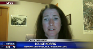 Louise Norris on FOX4 Morning News